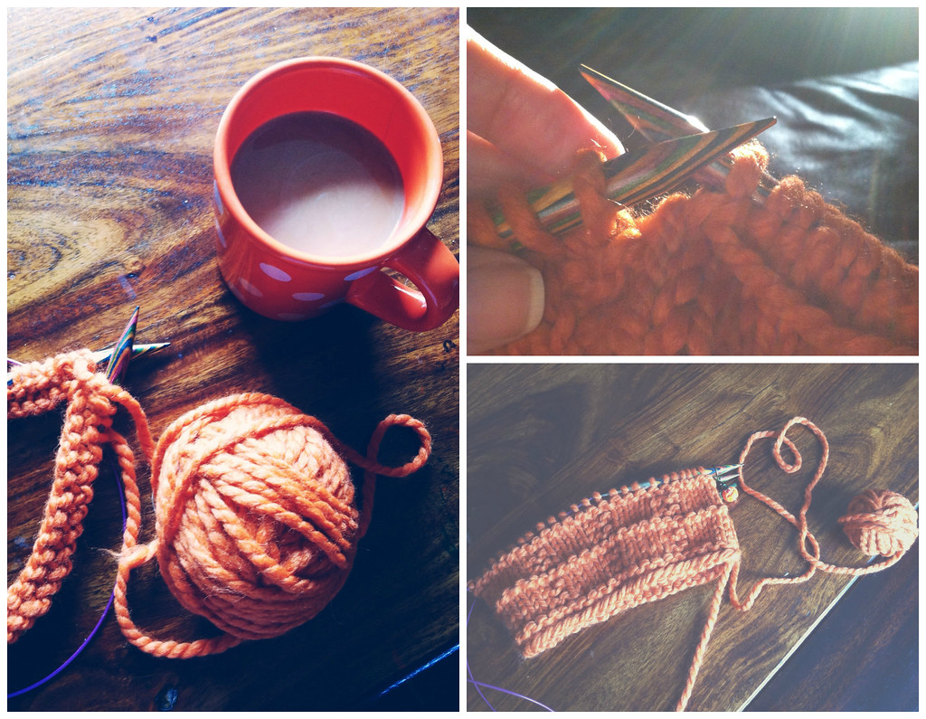 pumpkin cowl collage