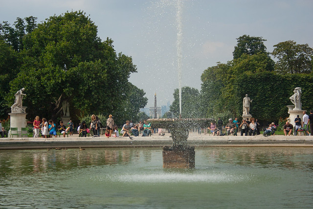 Fountain at Jardin des Tuleries