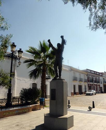 Huelva - Alosno - Monumento a la danza de los Cascabeleros  37 32' 56.75 -7 6' 54.22