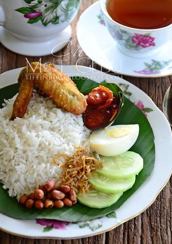 resepi nasi lemak kukus mat gebu