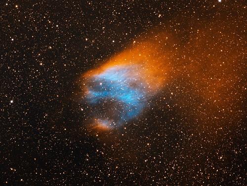 Flaming Skull Nebula