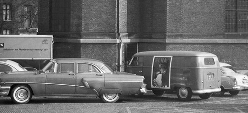 NS-78-59 Volkswagen Transporter bestelwagen 1954