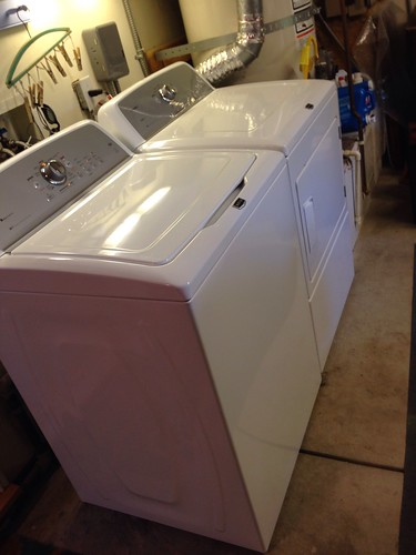 Brand new Maytag washer and dryer are here!