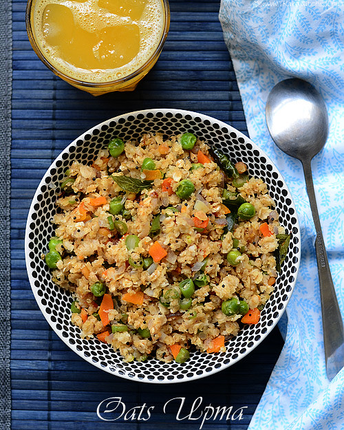 oats-upma-with-vegetables