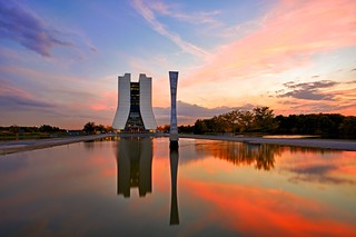 Sunset at Fermilab