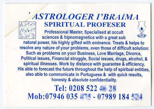 Astrologer I'Braima