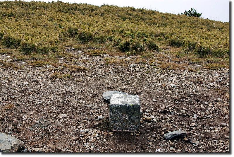 馬比杉山三等三角點(# 6336 Elev. 3211 m) 3