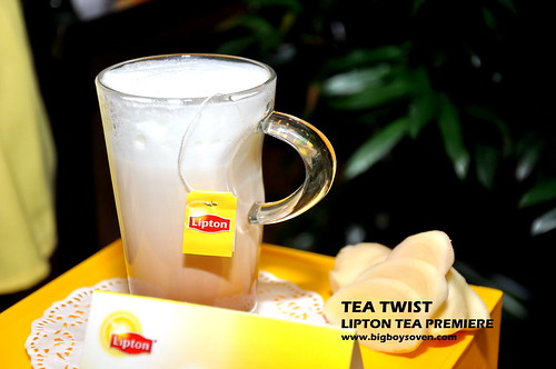 TEA TWIST Lipton Tea Premiere 12