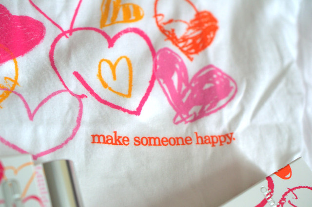 Happy Hearts Fund t-shirt