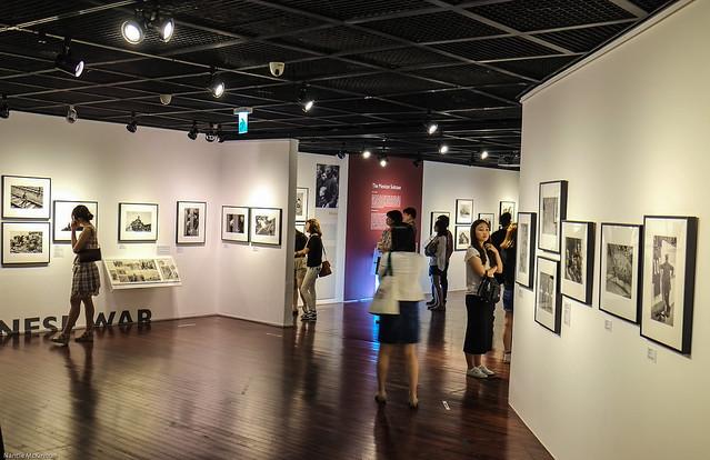 Robert Capa 100 Exhibit Hall
