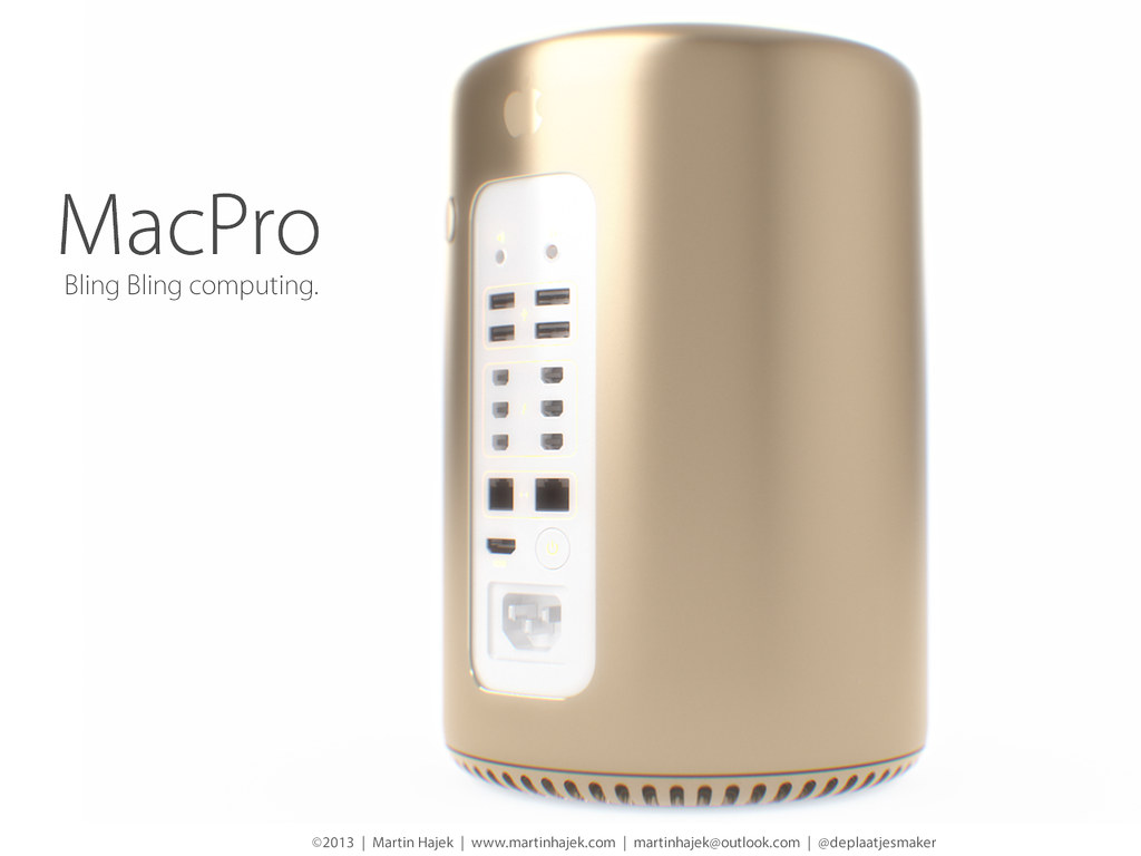 Mac Pro - bling bling computing (re)invented!