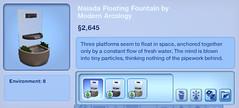 Naiada Floating Fountain by Modern Arcology