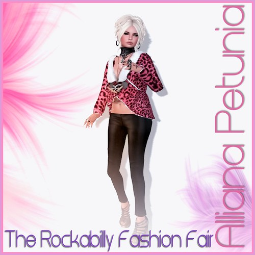 Delirium Style at The Rockabilly Fashion Fair! by Alliana Petunia