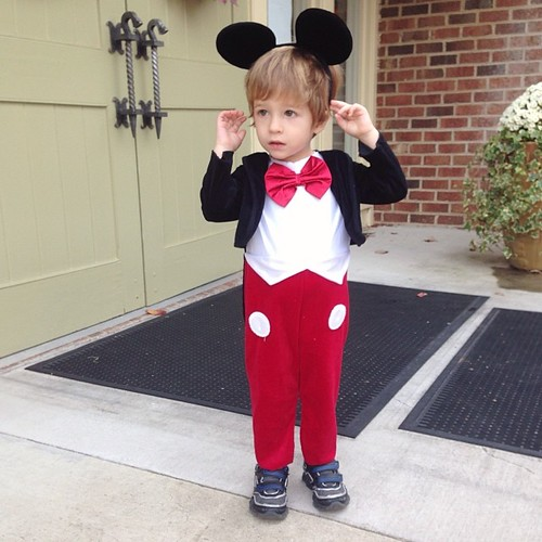 Cutest Mickey Mouse ever.
