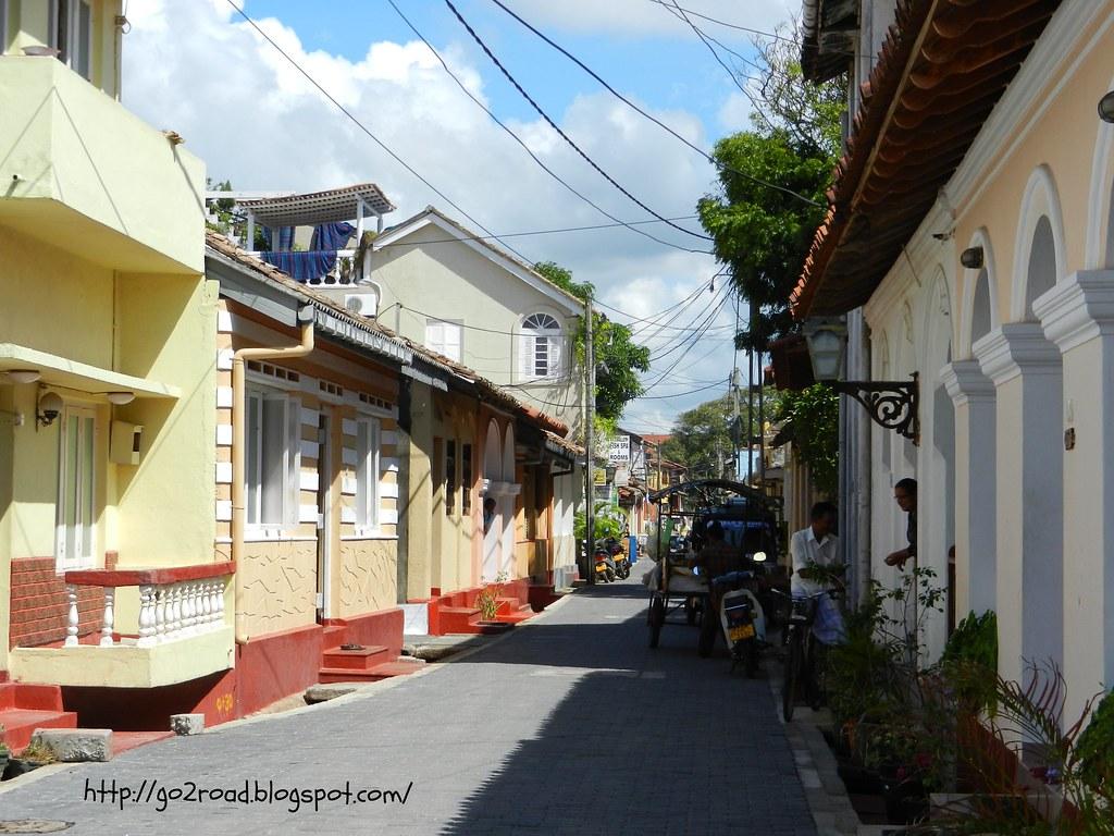Галле, Шри Ланка, улицы