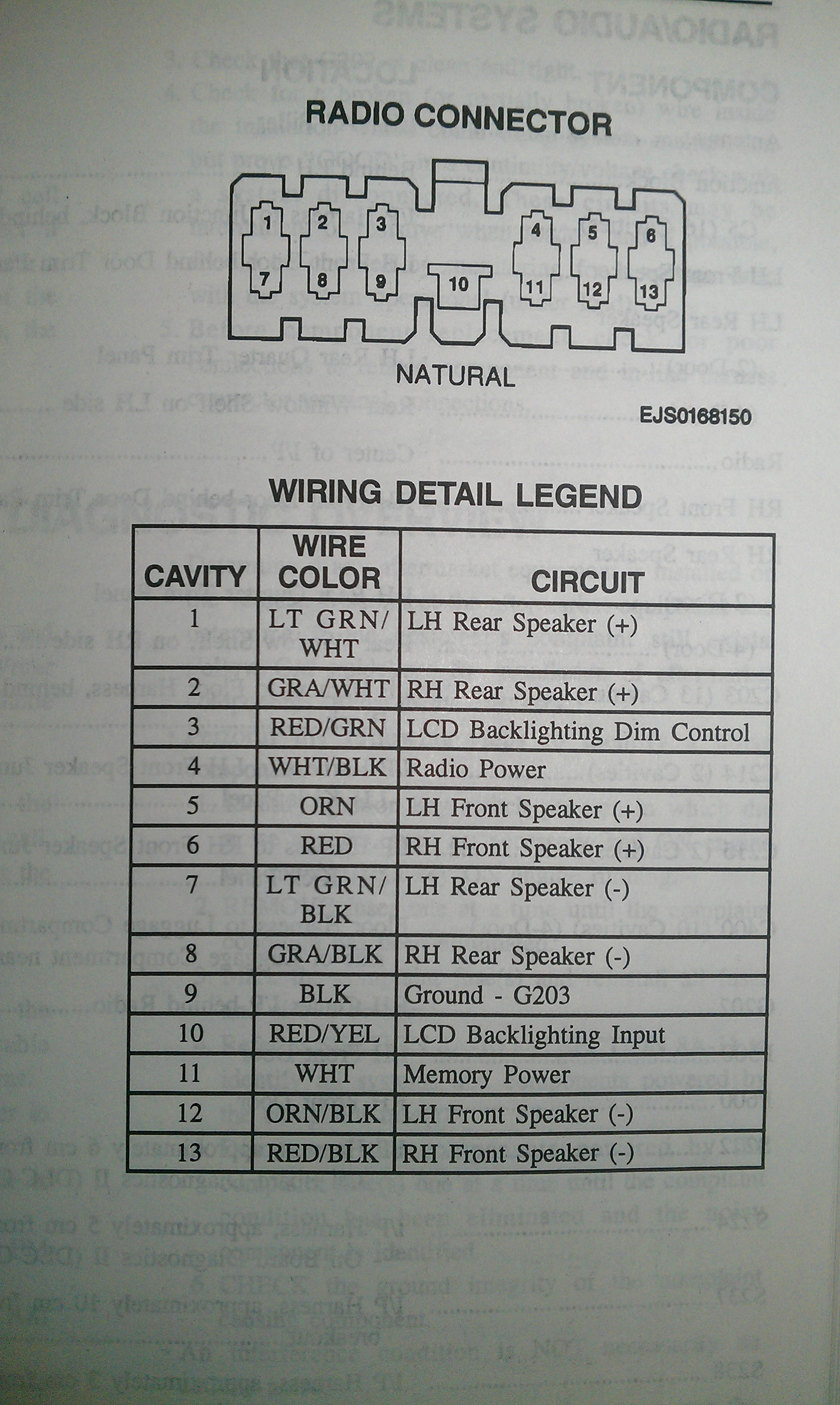 geo radio wiring wiring diagram ops 1994 Bmw 525I Wiring Diagram