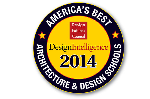 Landscape Architecture and Architecture are ranked in Top 20 programs nationwide by DesignIntelligence
