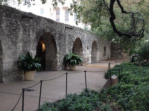 The Alamo barracks