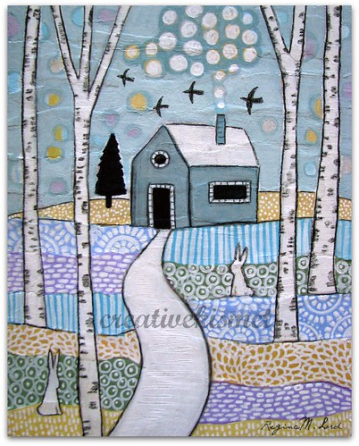 winter scene by Regina Lord