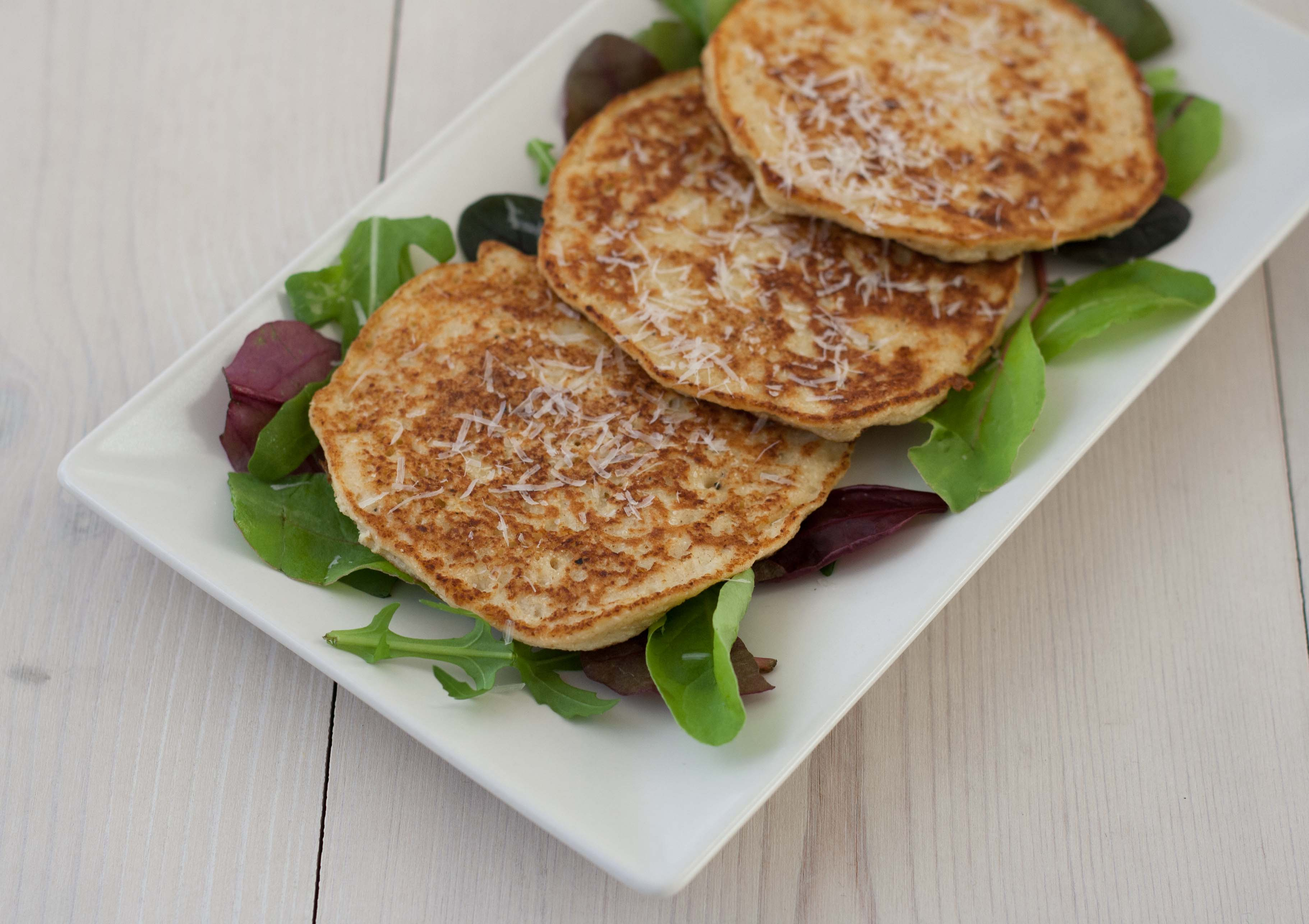 homemade Cauli-flower Pancakes