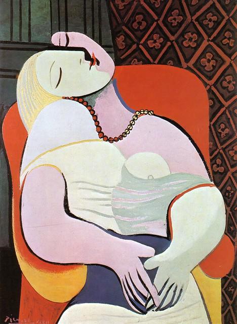 Woman Asleep in an Armchair (The Dream) [1932]