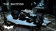 The Batpod in Lego Technic