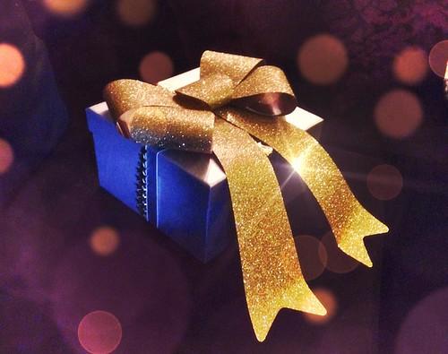 Glittery Gift