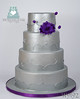 W9192-silver-purple-wedding-cake-toronto