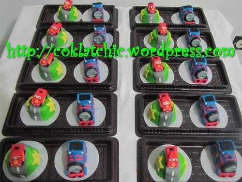 Minicake Thomas dan minicake cars