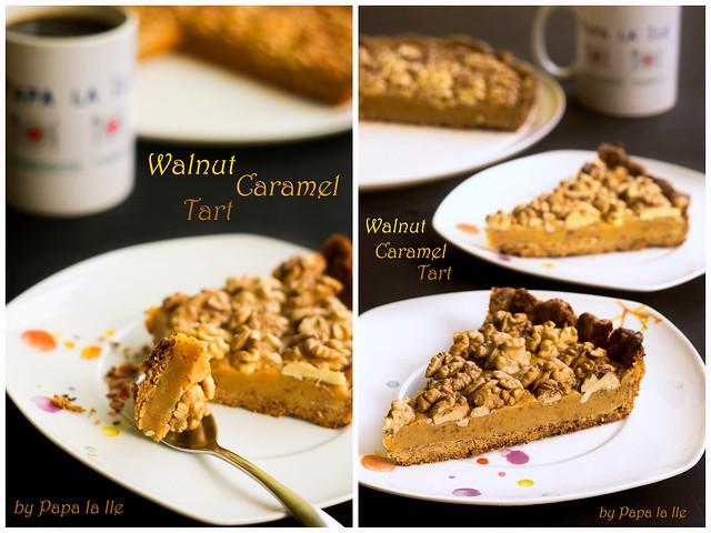 Walnut Caramel Tart (1)