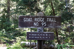 Goat Rocks Wilderness backpack trip, day 1, Goat Ridge to Hawkeye Point