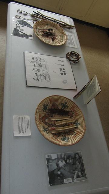 IMG_6759 Chumash artifacts display for school kids at SBMNH