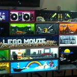 The LEGO Movie Display at LEGOLAND California