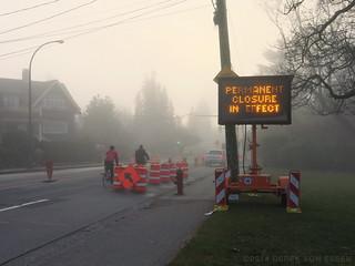 Point Grey Road Closure #5268