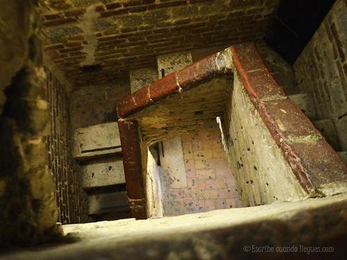 Interior de la Torre de Mangia