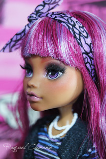 ♥SAKURA♥ ooak / repaint Monster high Clawdeen wolf