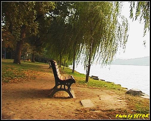 杭州 西湖 (其他景點) - 262 (在西湖十景之 蘇堤 右面是西裡湖 黃昏景)