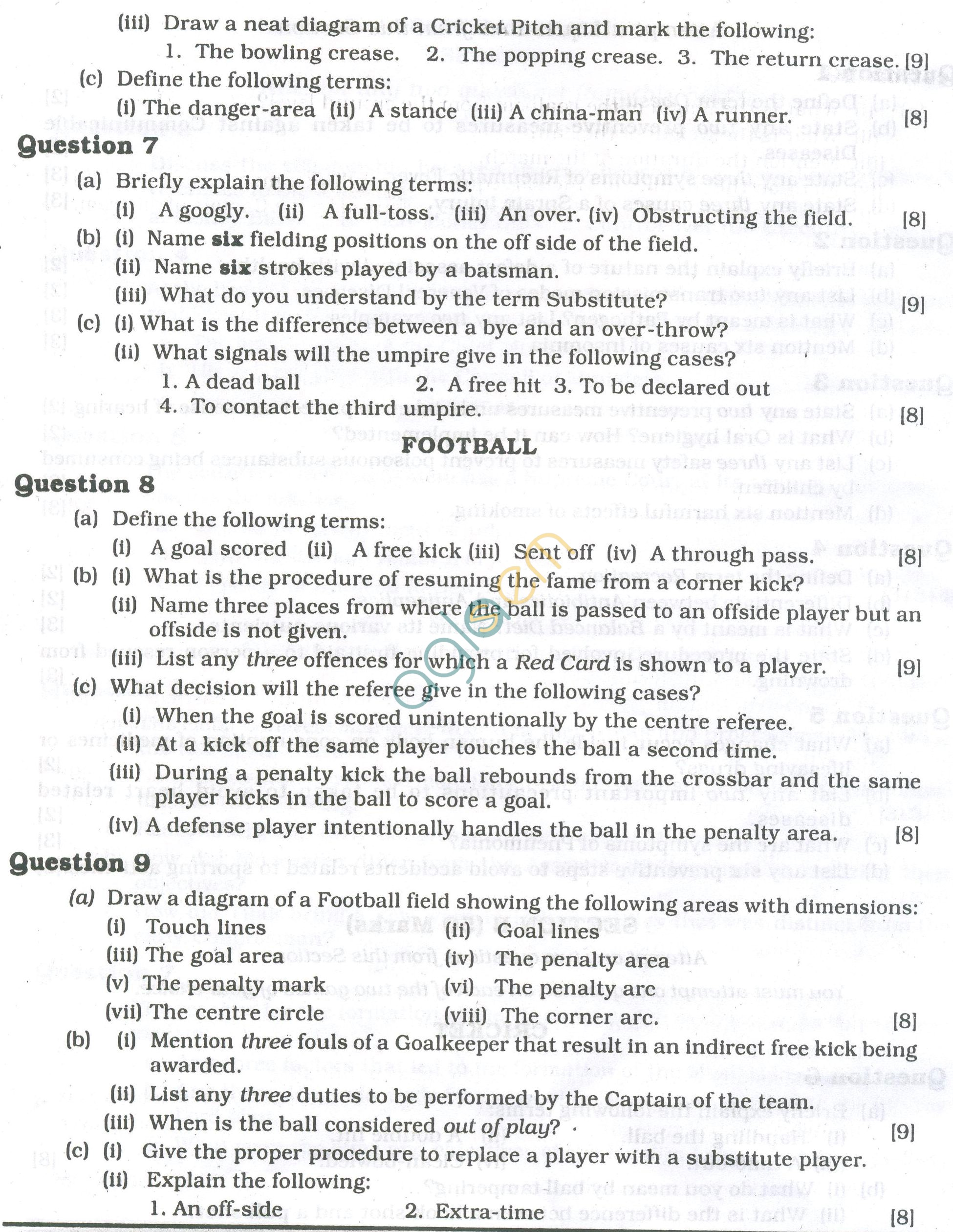 Icse question papers 2013 for class 10 physical education icse question papers 2013 for class 10 physical education malvernweather Image collections