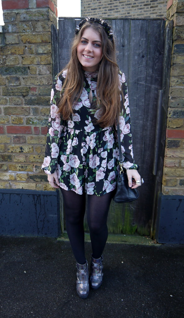 [blog] Rose Playsuit - Kirsty Wears