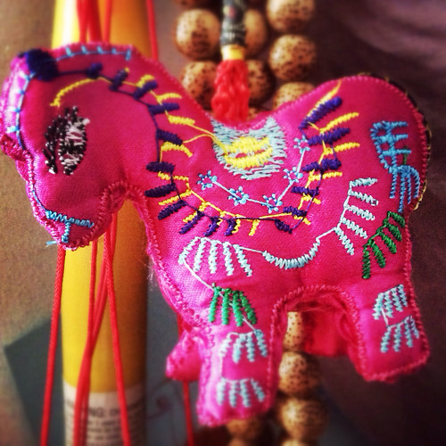 chinese new year, hong kong, celebration, festival, festivities, horse talisman, year of the horse