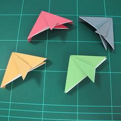 วิธีพับกล่องของขวัญแบบโมดูล่า (Modular Origami Decorative Box) โดย Tomoko Fuse 026