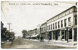 Main 300 block W side ca 1915