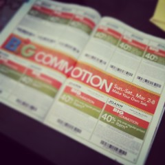 It's that time of year again! #coupon#commotion#joann