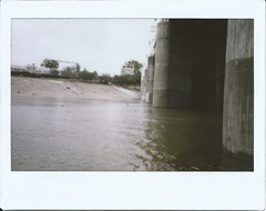 LA River on a Rainy Day
