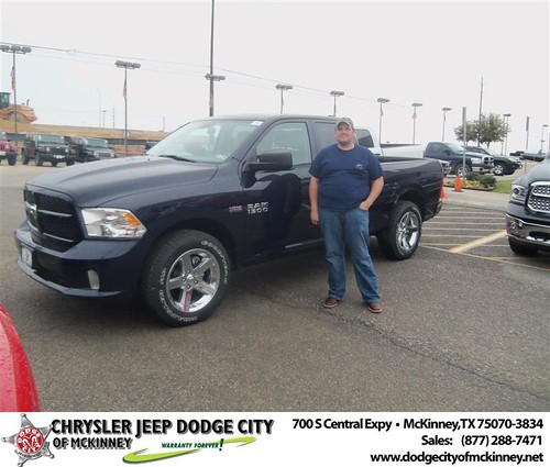 Happy Anniversary to Nicholas Drew on your 2013 #Dodge #Ram15 from Bobby Crosby  and everyone at Dodge City of McKinney! #Anniversary by Dodge City McKinney Texas