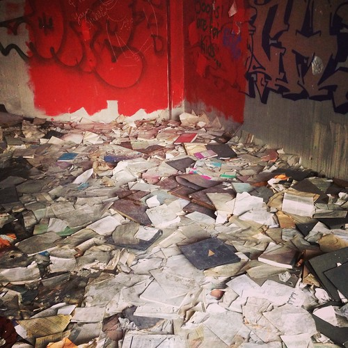 Paperasse dans l'ancienne ambassade iraqienne, Berlin