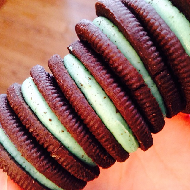 Day 16. Beautifully Ordinary. St. Patrick's Day is tomorrow and would not be the same without some BEATIFULLY ORDINARY Mint Oreos! You don't want to know how many I've inhaled today.  but, they're SO goooood!!!  #fmsphotoaday