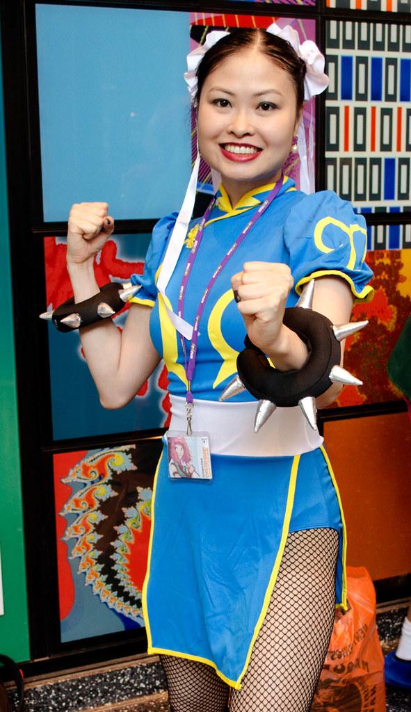 Chun li cosplay SpringFestNY