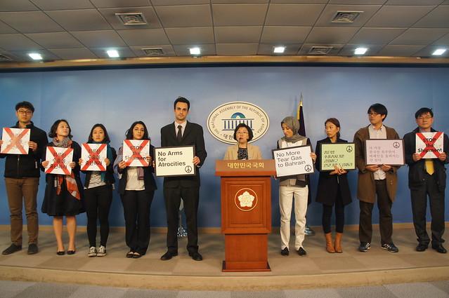 20140319_기자회견_총단법개정및 최루탄수출에 인권기준 도입촉구