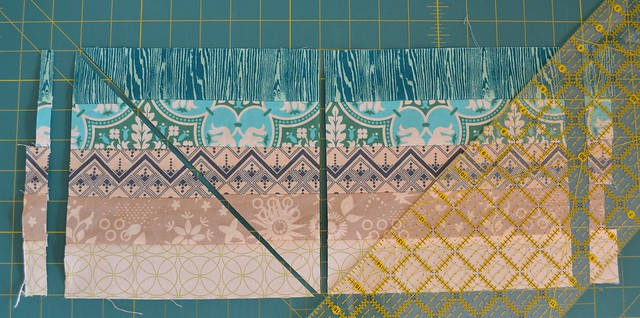 Blended Scraps Block - Tutorial, 5